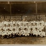 Autographed 1927 Yankees team photo
