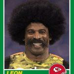 Panini Leon Sandcastle rookie card