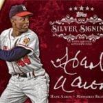 2013 Topps Five Star Hank Aaron autograph