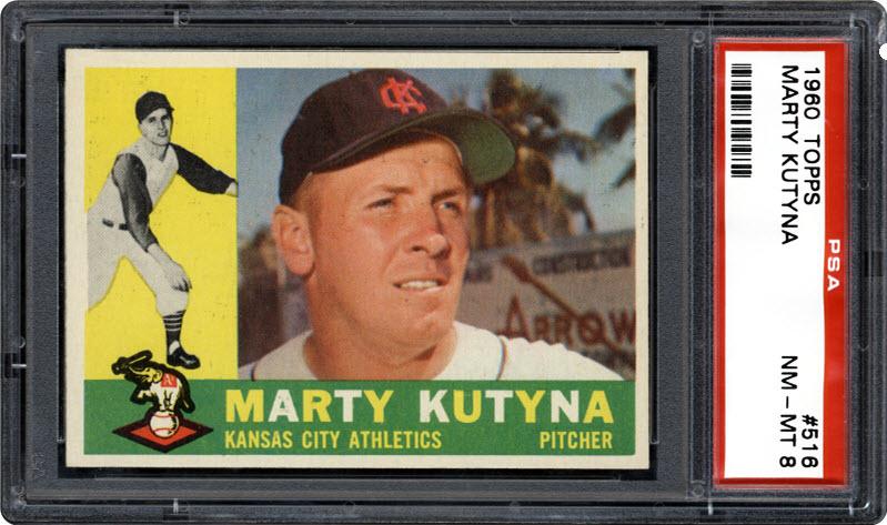Marty Kutyna 1960 Topps