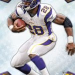 Adrian Peterson 2013 Topps Finest football