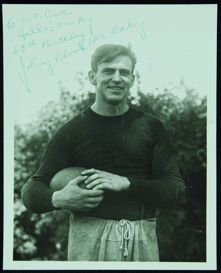 John McNally signed photo
