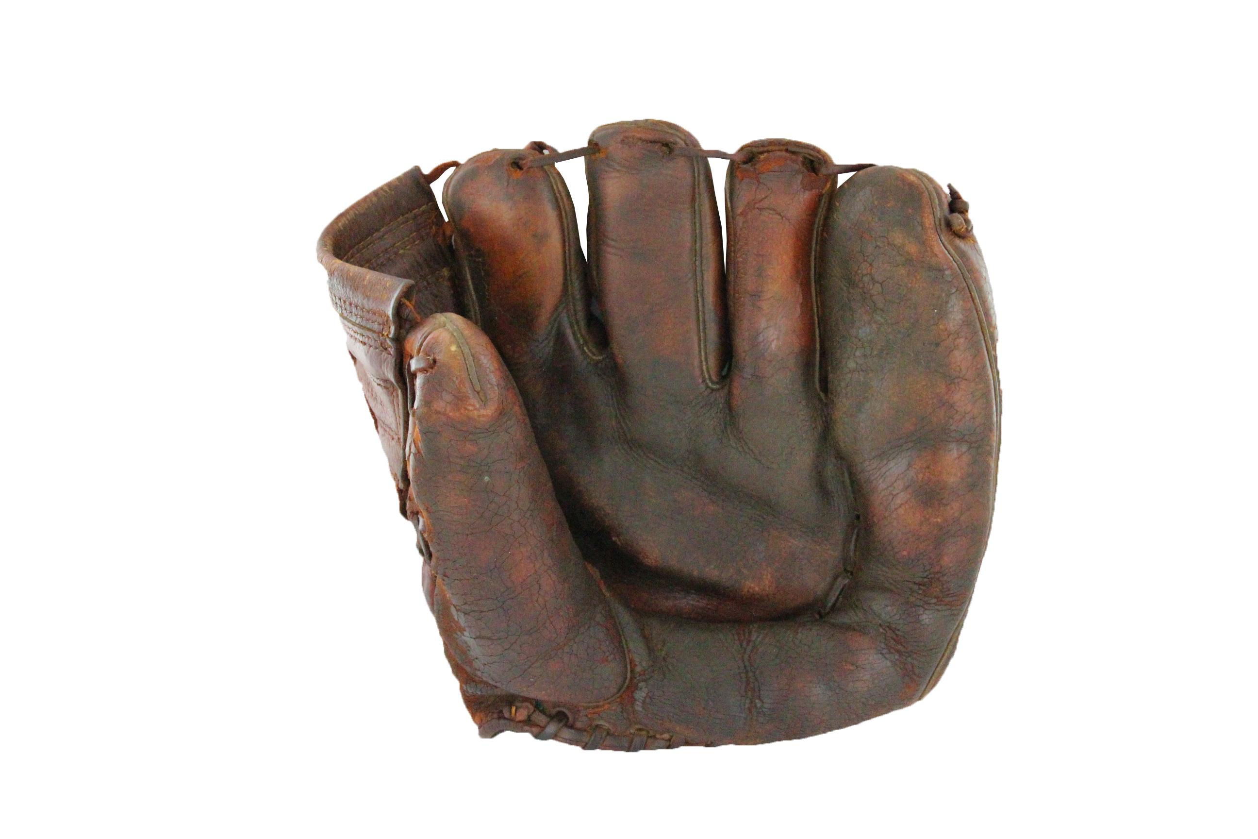 Game worn glove Jackie Robinson
