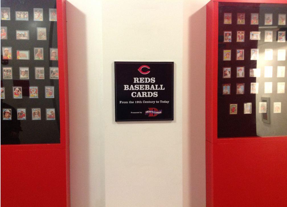 Reds Hall of Fame baseball cards
