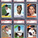 Topps 1966 baseball graded set