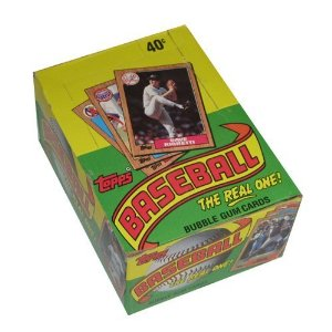 1987 Topps box