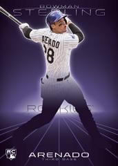 Nolan Arenado Rookie Purple 2013 Sterling