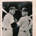 Joe DiMaggio-Mickey Mantle photograph