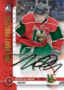 Nathan Mackinnon ITG Draft Prospects autograph