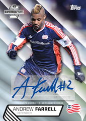 Topps 2013 MLS Signed Card