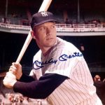 Signed photo Mickey Mantle