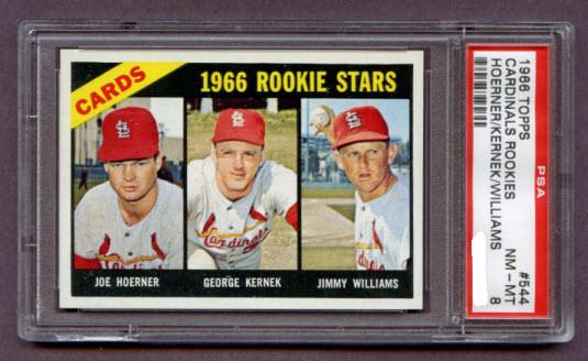 1966 Topps Cardinals rookies