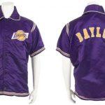 Lakers Elgin Baylor warmup