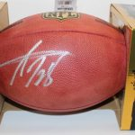 Autographed Adrian Peterson football