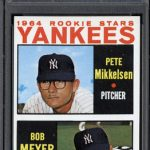 PSA Topps Rookie Yankees