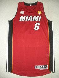 2013 NBA Finals LeBron James game jersey