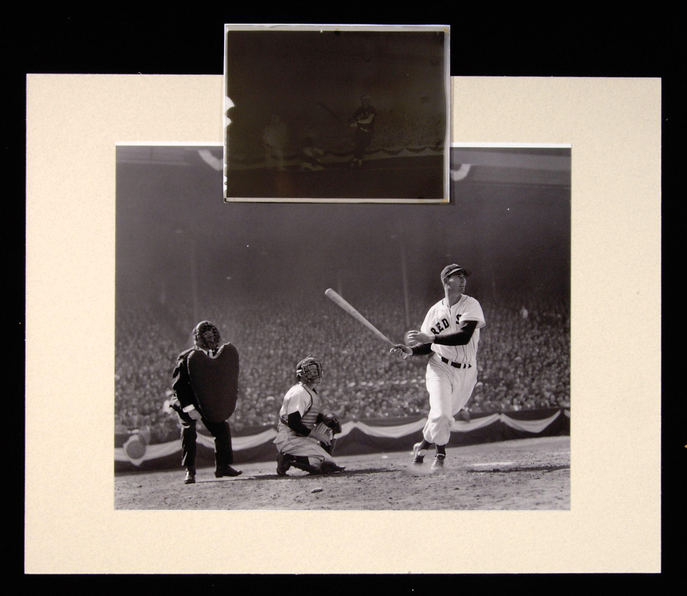 Ted Williams photograph Beardsley collection