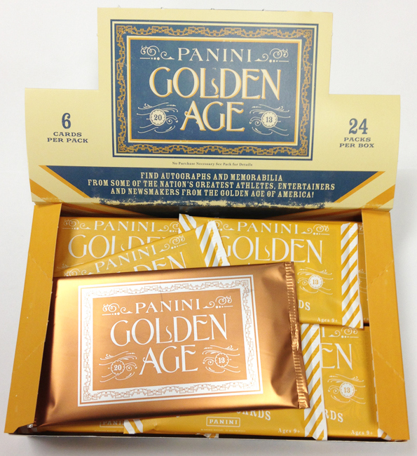 2013 Panini Golden Age Baseball box