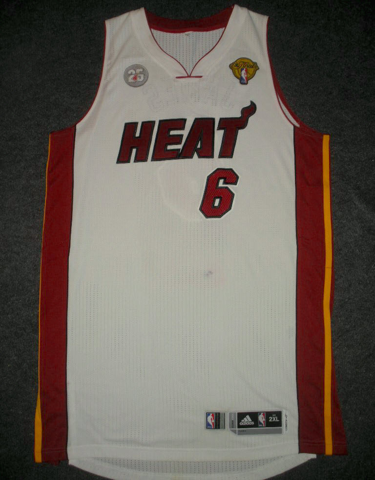 LeBron's Game 2 Finals Jersey Sells for $37,470