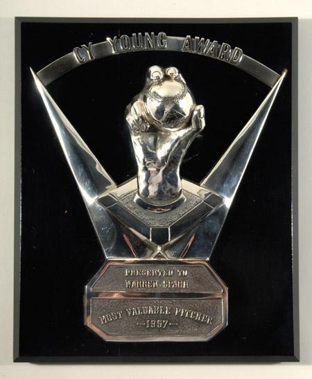 Warren Spahn 1957 Cy Young Award