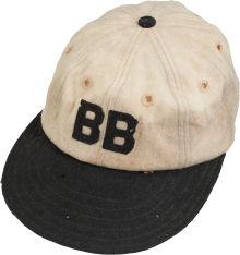 Babe Ruth Barnstorming cap