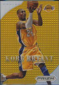 Gold Prizm Kobe Bryant
