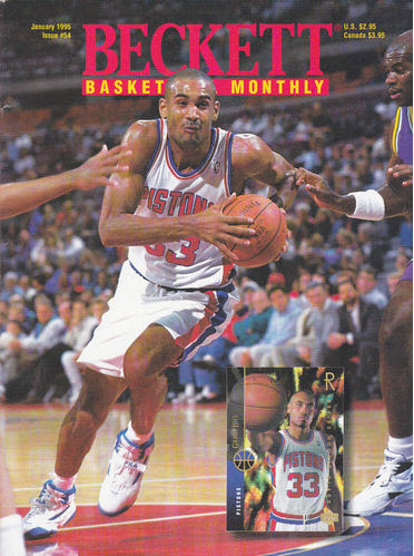 January 1995 Beckett Basketball Guide