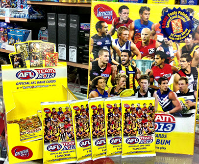 AFL cards/photo from eBay