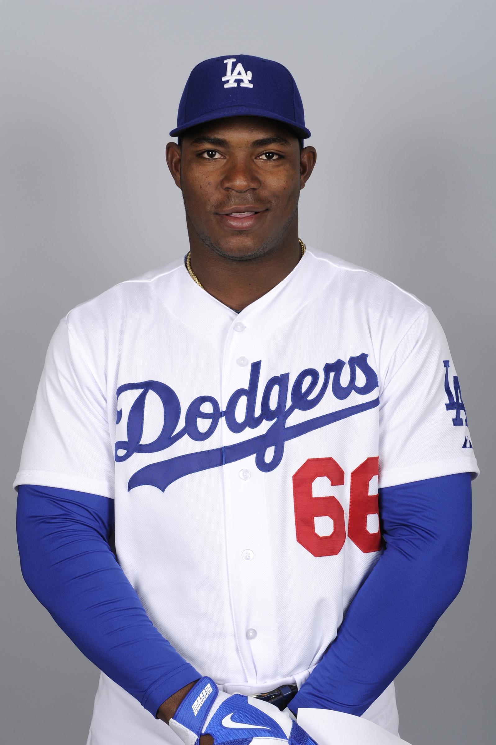 Dodgers Yasiel Puig