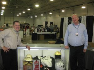Tony Giese (L) and Mark Jordan from Heritage Auctions
