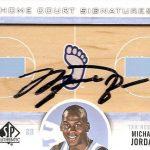 Michael Jordan signed 2012-13 SP Authentic card