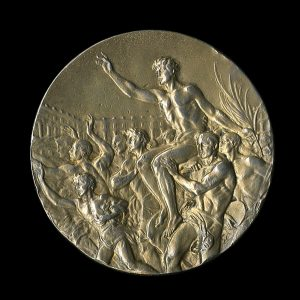 1936 Olympic Gold Medal Jesse Owens