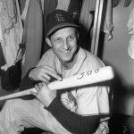 3000 hit bat Stan Musial
