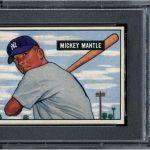 PSA 9 1951 Bowman Mickey Mantle