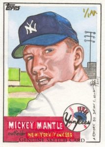 Brian Kong Mickey Mantle 1953