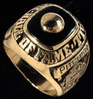 Hall of Fame ring Warren Spahn