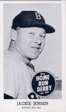 Jackie Jensen 1959 Home Run Derby