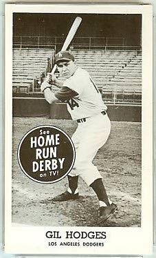 Gil Hodges 1959 Home Run Derby