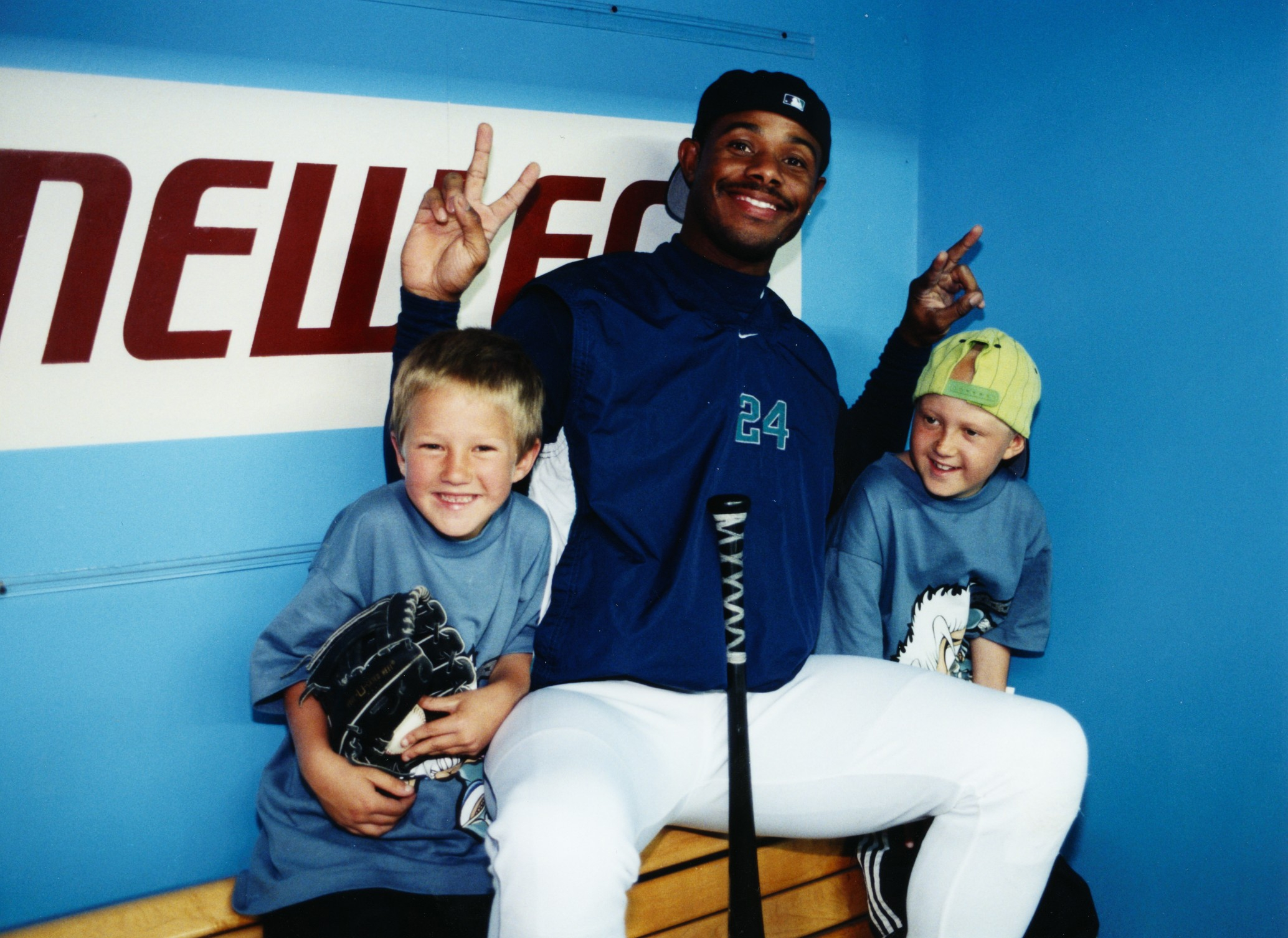 Signed Ken Griffey Jr. bat