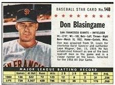 1961 Post Don Blasingame