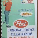 1961 Post Cereal Baseball Cards Book by Dan Mabey
