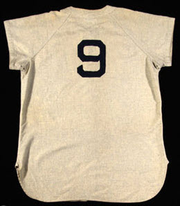 Ted Williams jersey 1940s