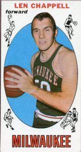 Len Chappell 1969-70 Topps