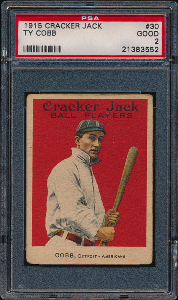 Ty Cobb 1915 Cracker Jack Love of the Game