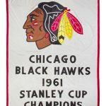 Chicago Blackhawks Stanley Cup banner 1961