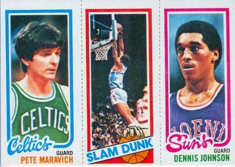 Pete Maravich 1980-81 Topps