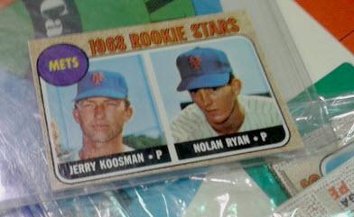 Topps Nolan Ryan rookie card