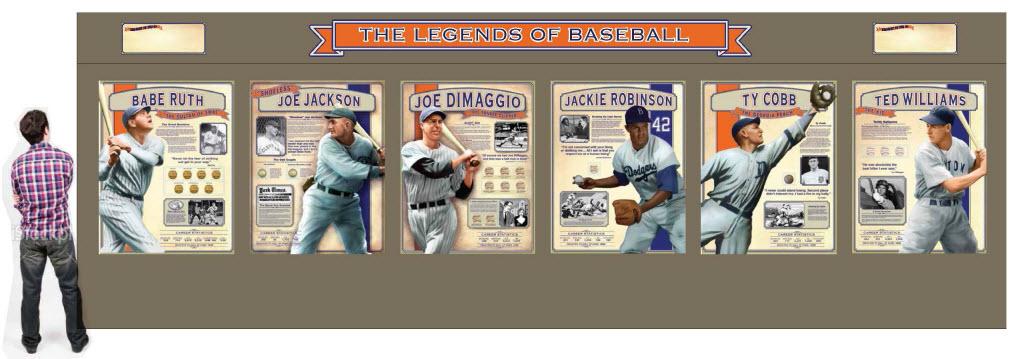 Little Cooperstown baseball exhibit