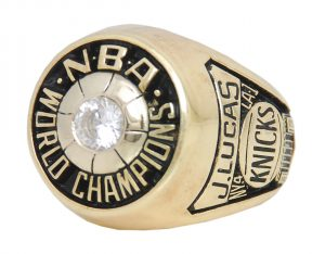 Jerry Lucas NBA Championship ring