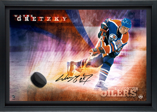 Gretzky 'Breaking Through Autograph